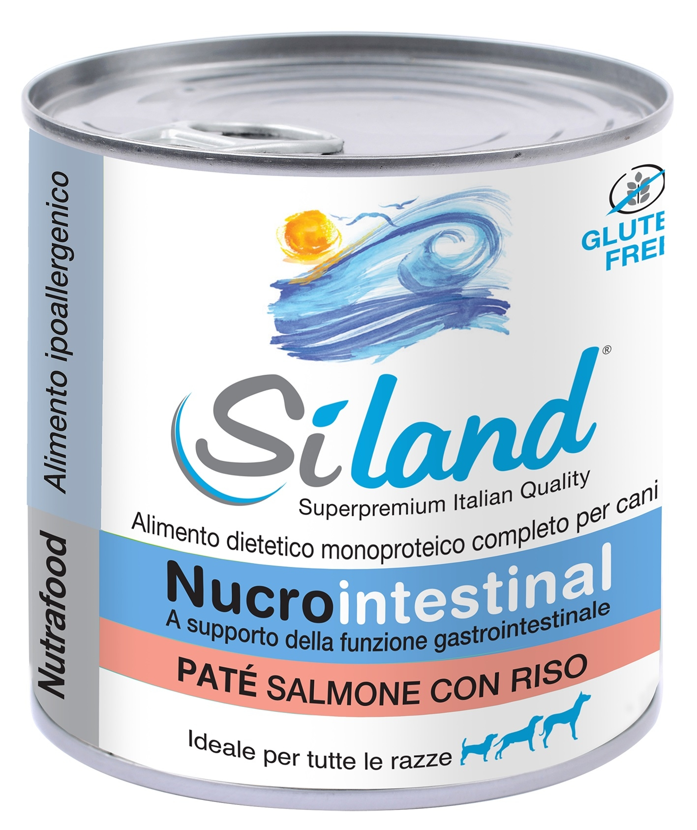 SILAND nucrointestinal PATE SALMONE CON RISO Alim