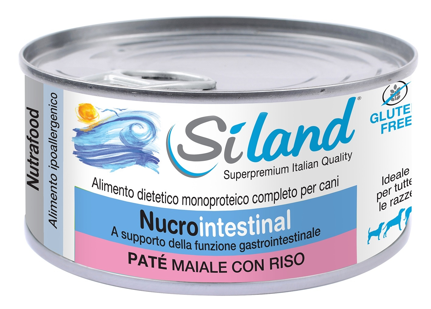 SILAND nucrointestinal PATE MAIALE CON RISO Alime