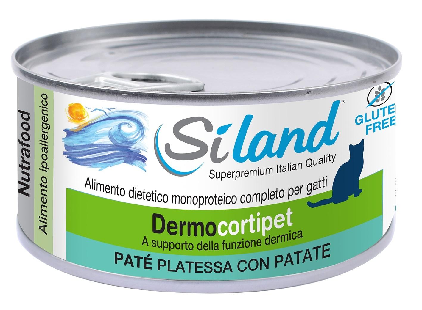 SILAND dermocortipet PATE PLATESSA CON PATATE Ali